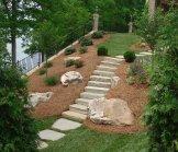 Custom Stone Stairs