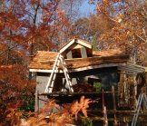 Creative Garden Spaces Inc, tree house construction