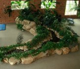 Creative Garden Spaces Inc, indoor water feature, indoor stream